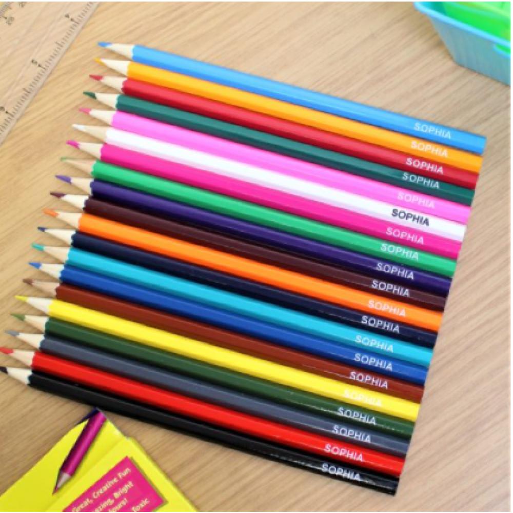Personalised pencils