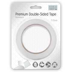 Premium Double-Sided Tape 1in Permanent
