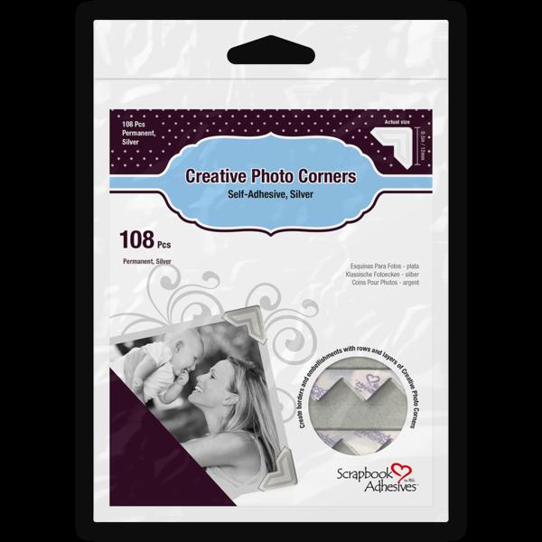Creative Photo Corners Silver