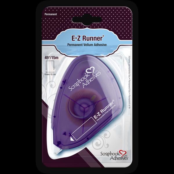 E-Z Runner Permanent Fine, Vellum Adhesive