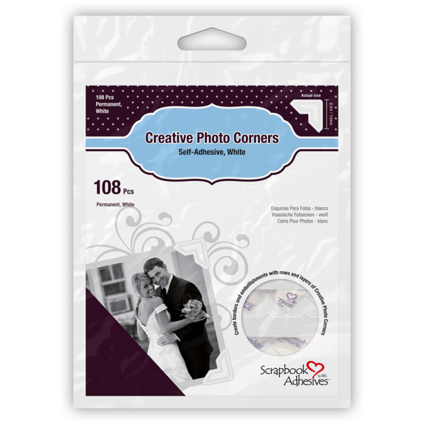 Creative Photo Corners White