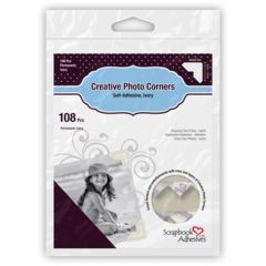 Creative Photo Corners Ivory
