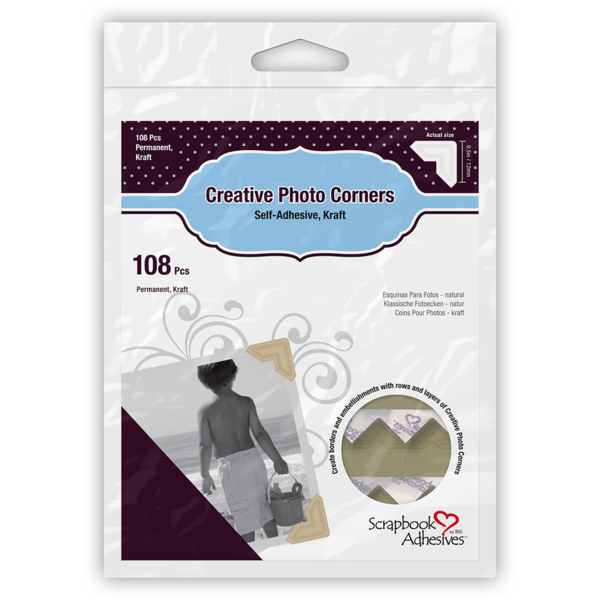 Creative Photo Corners Kraft