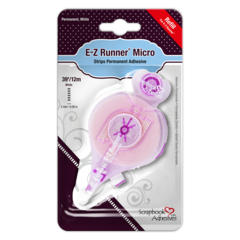 E-Z Runner Micro Refill - permanent strips adhesive