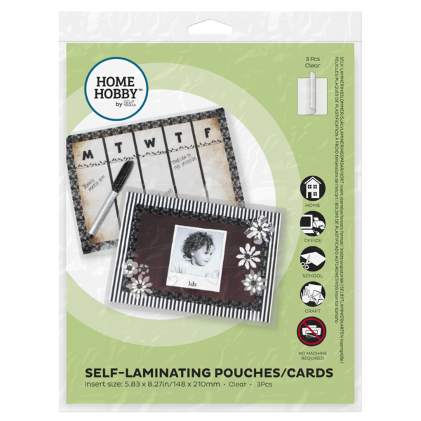 Self Laminating Pouches - Cards Large