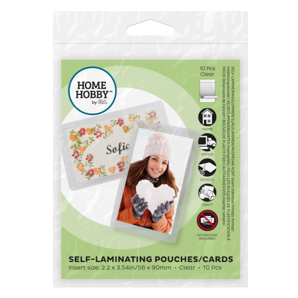 Self-Laminating Pouches - Cards Small