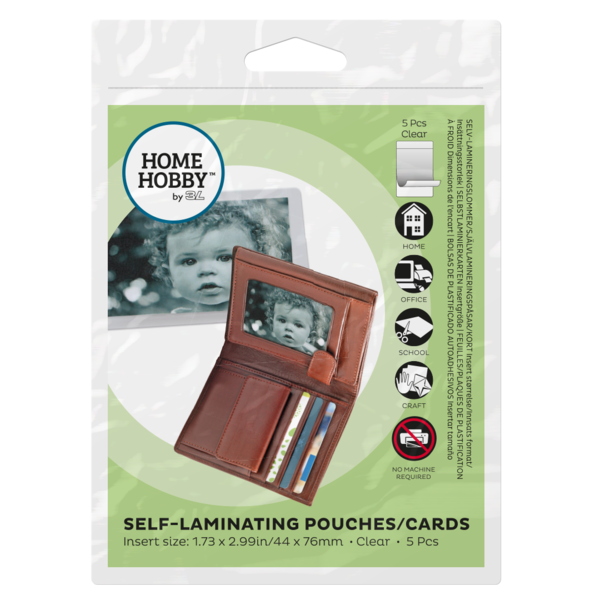 Self Laminating Pouches Cards Wallet Size,  X-Small 01857