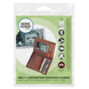 01857 002 self laminating pouches wallet size 54x86mm