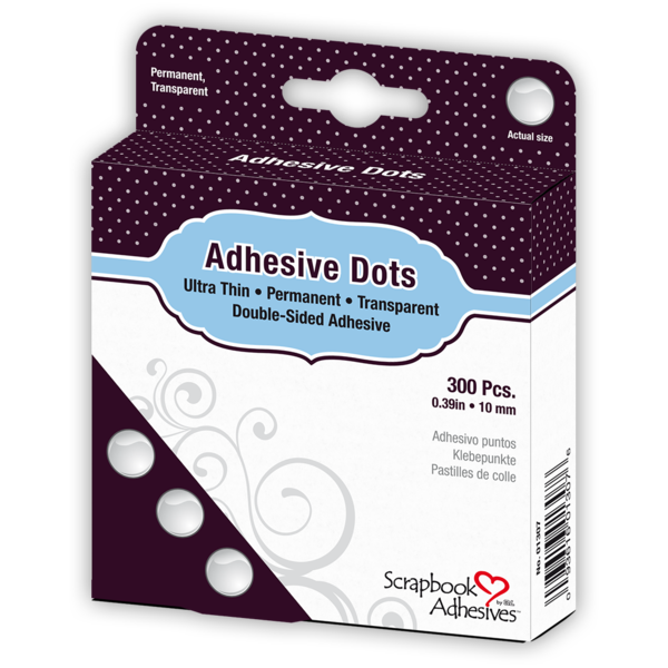 Adhesive Dots Ultra Thin Medium size