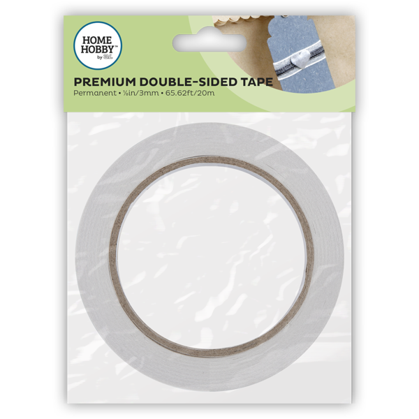 Premium Double-Sided Tape 1/8in