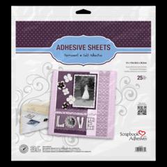 Adhesive Sheets - 12x12inch - 25 Sheets