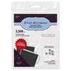 01403 3d foam micro squares black
