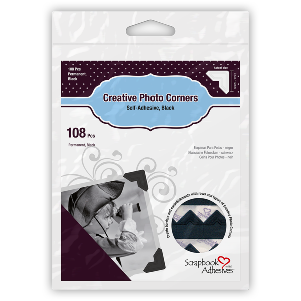 Creative Photo Corners Black