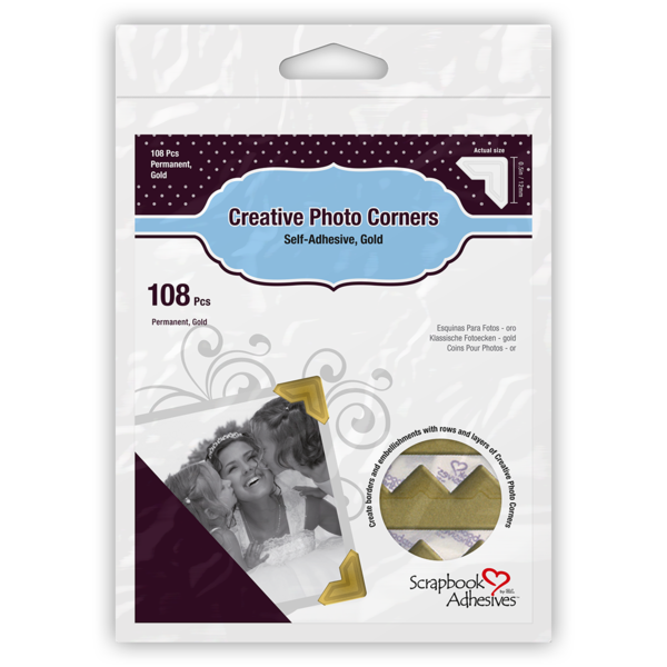 Creative Photo Corners Gold