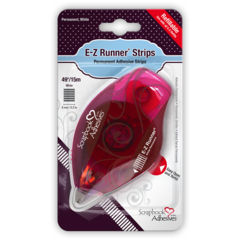 E-Z Runner Permanent Strips Refillable Dispenser 49ft/15m