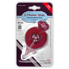 E-Z Runner Permanent Strips Refill 49ft/15m