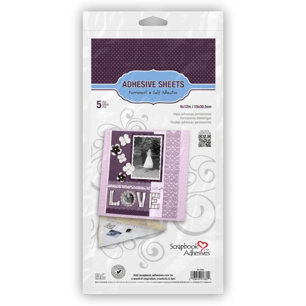 """Adhesive Sheets for Die Cutting 6x12"""""""