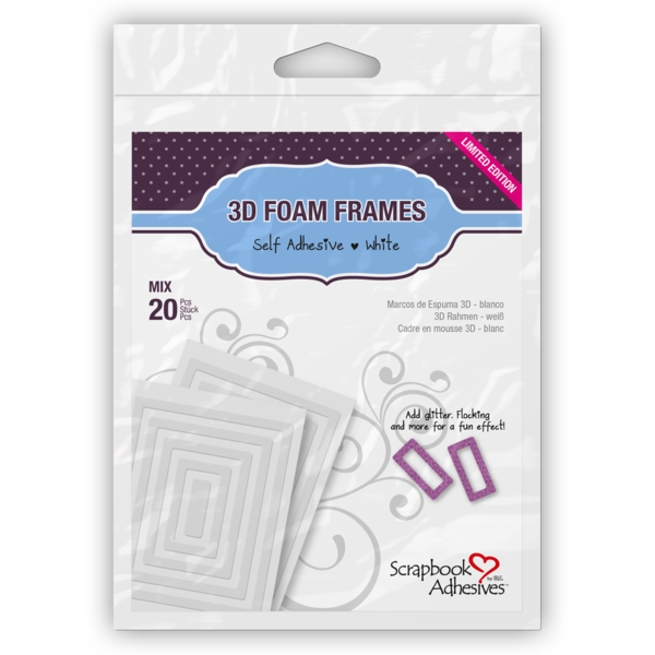 3D Foam Frames - Scrapbook Adhesives by 3L