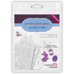 3D Foam Easter Shapes