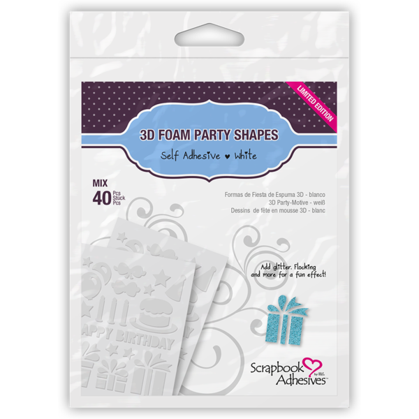 3D Foam Party Shapes