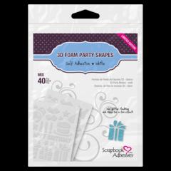 3D Foam Party Shapes