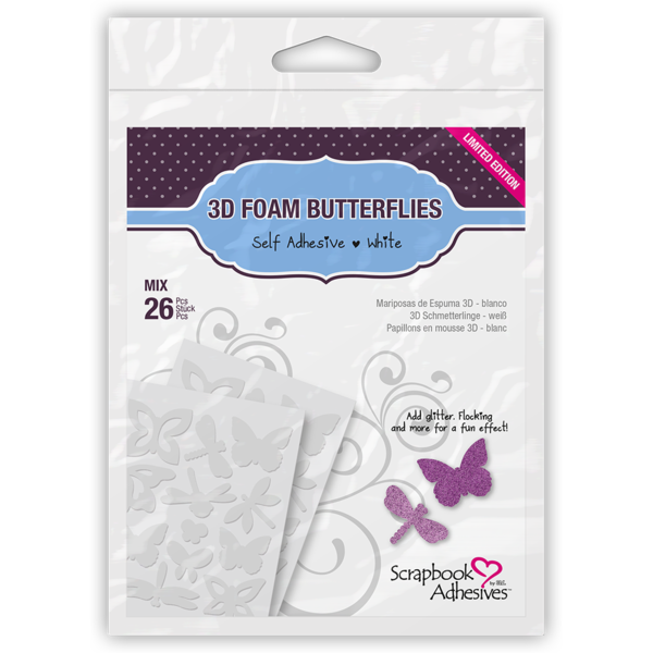 3D Foam Butterflies