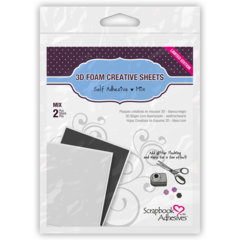 3D Foam Creative Sheets of adhesive for die cutting