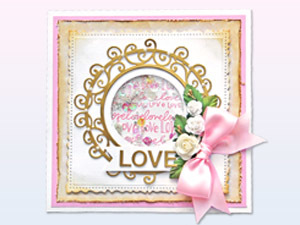 3D Foam Category cover - Love Card by Yvonne van de Grijp for Scrapbook Adhesives by 3L