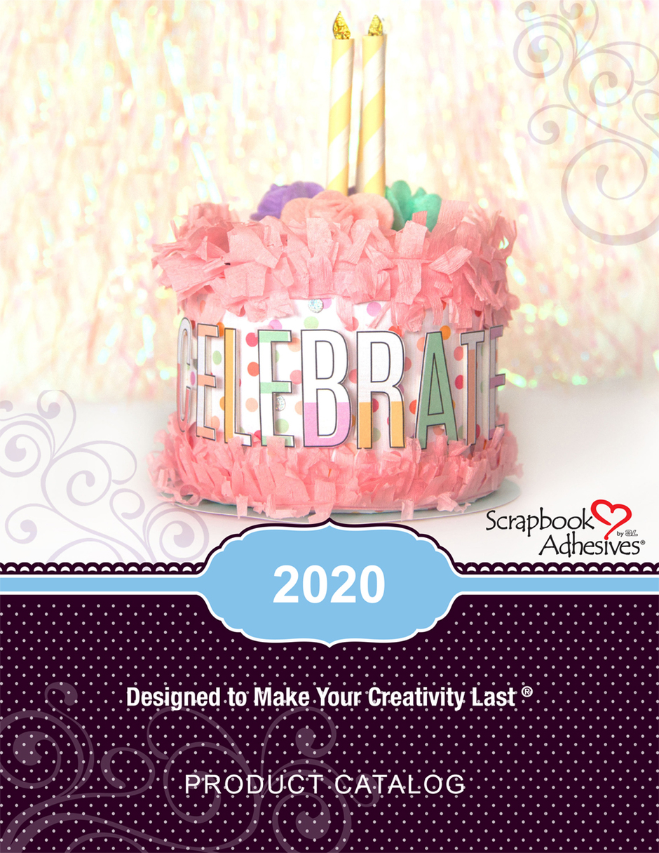 Scrapbook Adhesives by 3L Catalog 2020