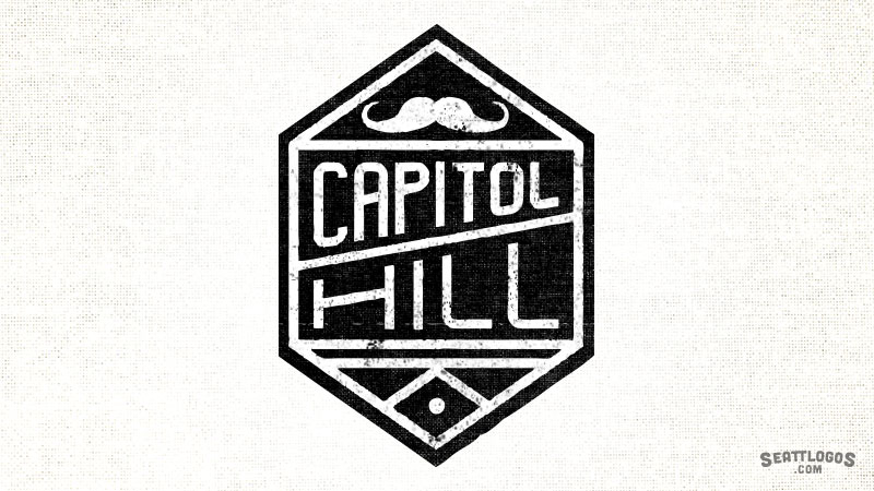 CAPITOL HILL by Seattlogos.com