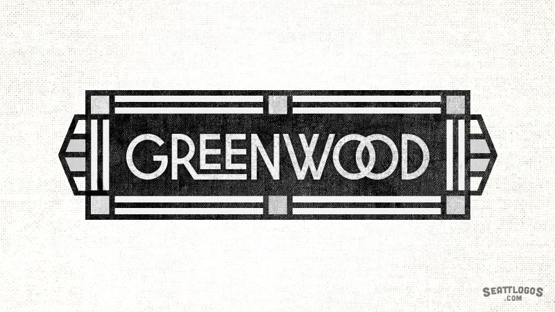 GREENWOOD by Seattlogos.com