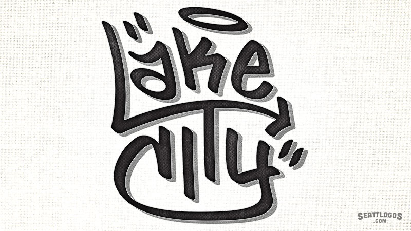 LAKE CITY by Seattlogos.com