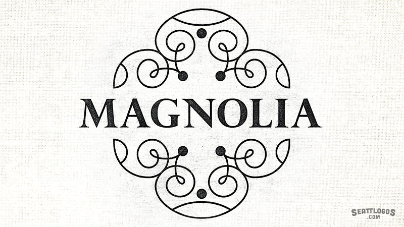 MAGNOLIA by Seattlogos.com