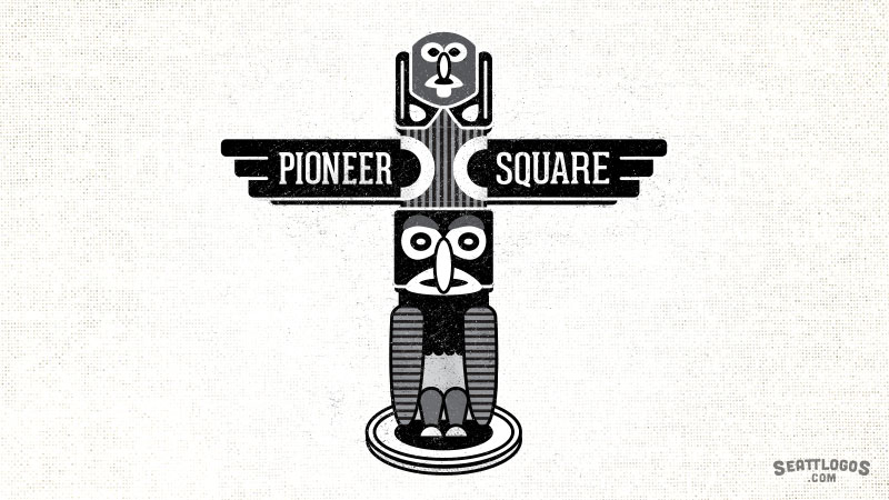 Pioneer Square by Seattlogos.com