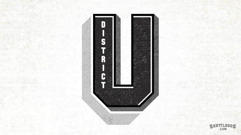 U DISTRICT by Seattlogos.com