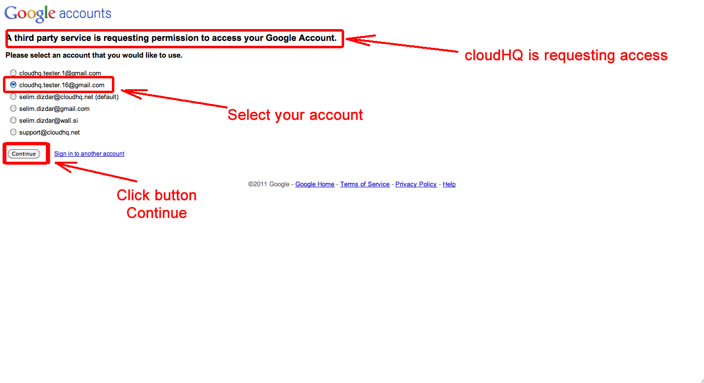 cloudHQ is requesting Gmail access