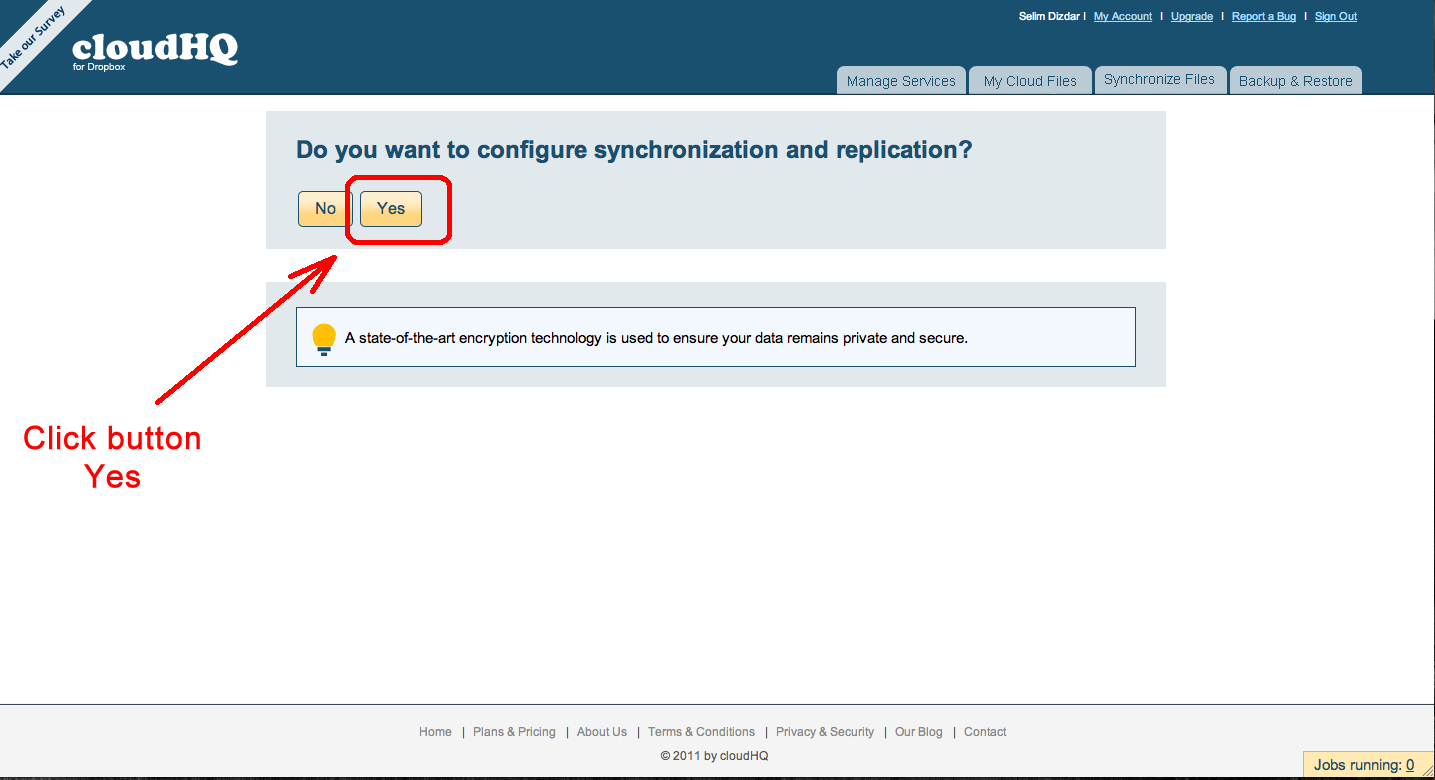 Configure synchronization and replication