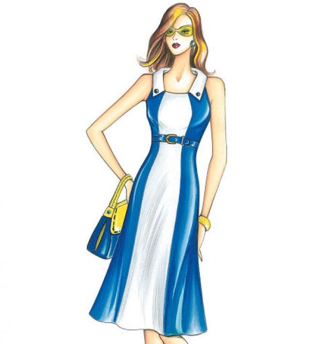 Marfy 3668 Dress Pattern Sewing Patterns Dresses