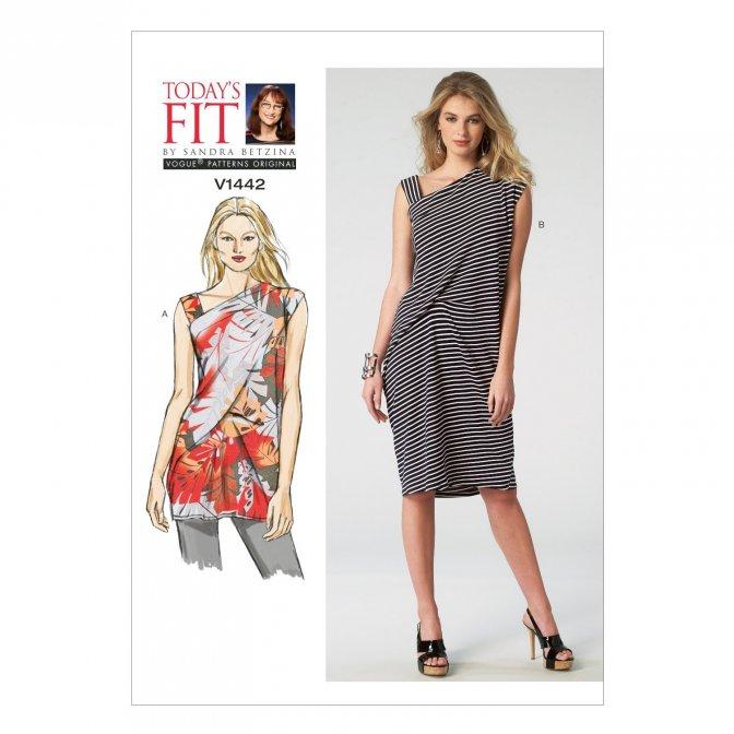 Vogue 1442   Sewing Patterns   Misses\' Tunics & Dresses - Sewcratic