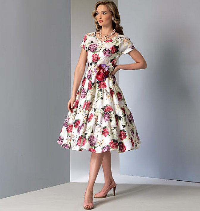 vogue 9106 sewing patterns misses 39 vintage dresses sewcratic. Black Bedroom Furniture Sets. Home Design Ideas