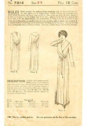 Ladies' Home Journal 7314 (1910)