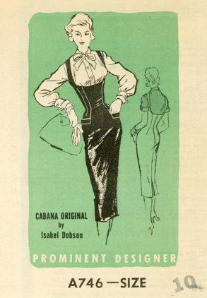 Prominent Designer 746 (1955)