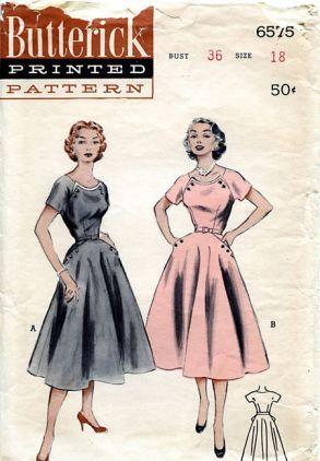 Butterick 6575 (1953)