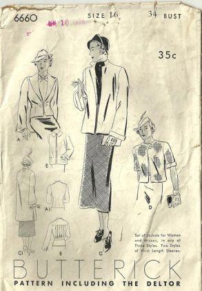 Butterick 6660 (1935)