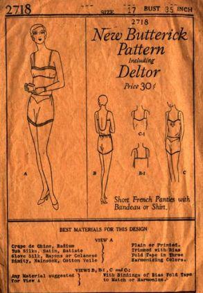 Butterick 7218 (1930)