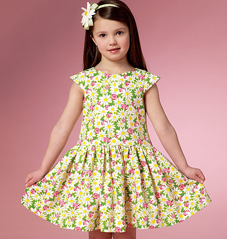 Butterick 6201   Easy Sewing Patterns   Girls\' Dresses - Sewcratic