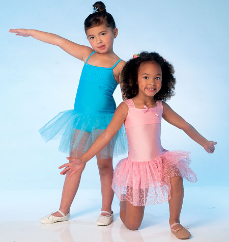 Kwik Sew 4108 | Sewing Patterns | Girls\' Ballet Leotard - Sewcratic
