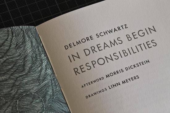 Delmore Schwartz in dreams begin responsibilities text