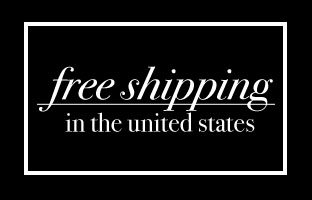 Free shipping on all orders.