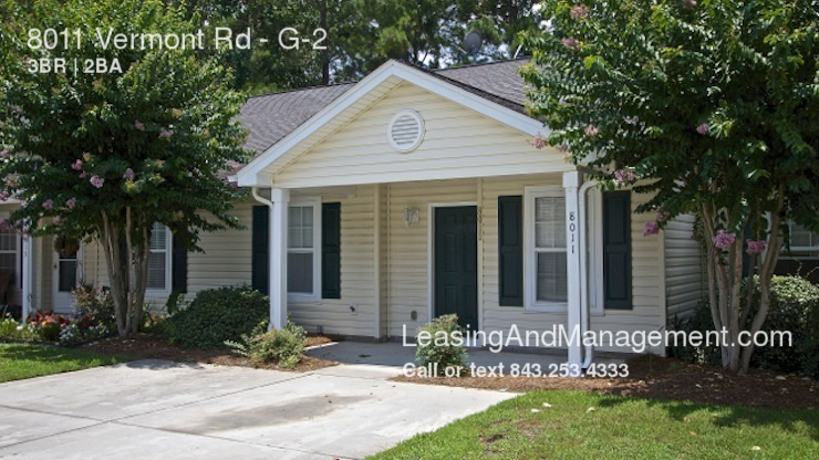 Townhouse for Rent in North Charleston